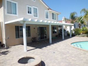 rancho santa margarita insulated patio roof ground view