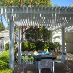 Mission Viejo Closely spaced 2x3 for max shade Aluminum Patio