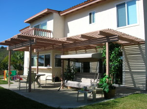 Open Patio Cover Extended span