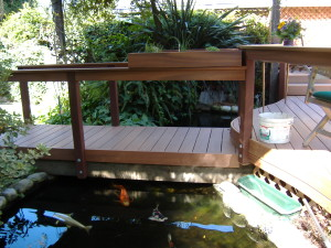 Fibron composite decking