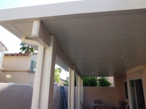Insulated patio cover Alumawood fascia Anaheim