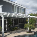 Laguna Hills Patio Cover with Extra Post Span