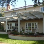 Aliso Viejo Open patio cover with radius