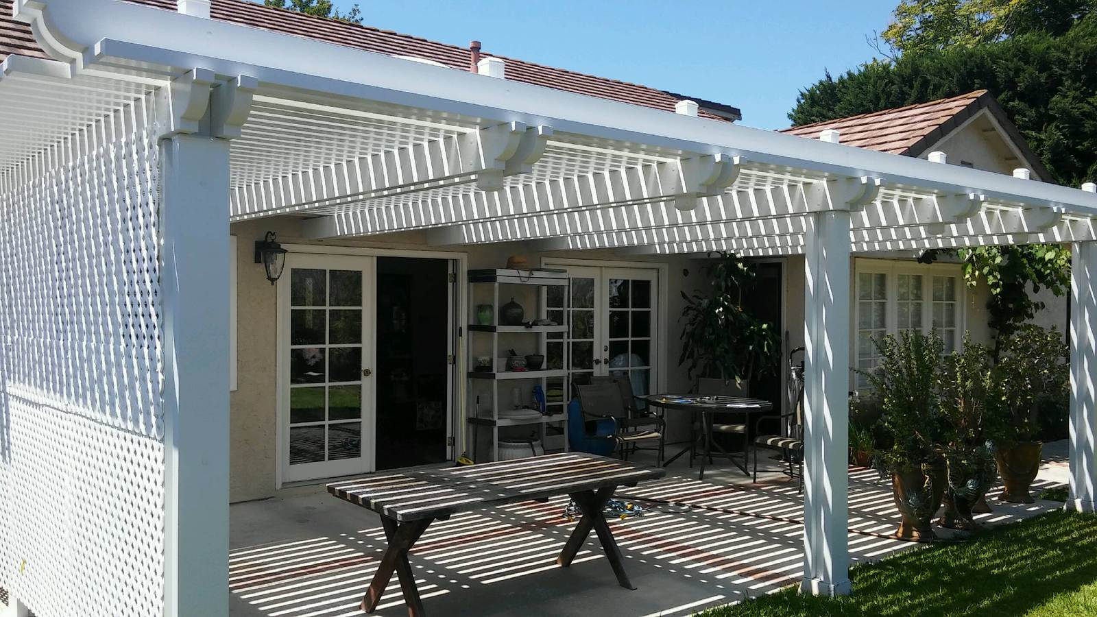 Patio Cover In San Juan Capistrano