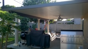 Huntington Beach Aluminum Patio Cover