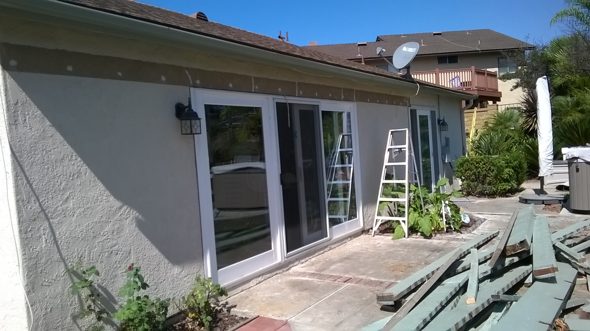 Mission Viejo Aluminum Patio Cover Project by the Patio Man